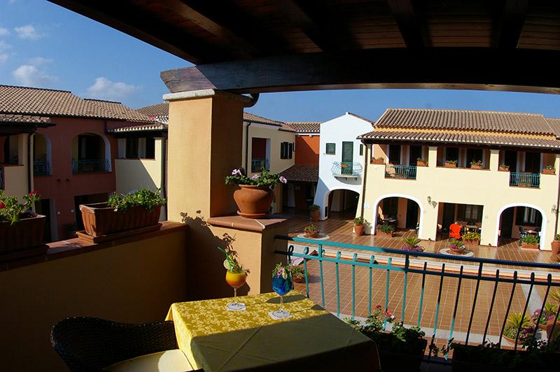 Hotel Torre Moresca Balkon
