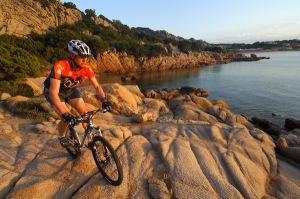 Mountainbike reise sardinien